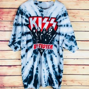 Kiss Band Graphic Tee-Size 3X